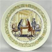 Limoges Commemorative Plate