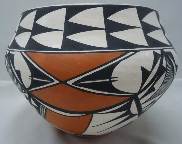 Native American Acoma Pottery By Brenda Charlie - 2