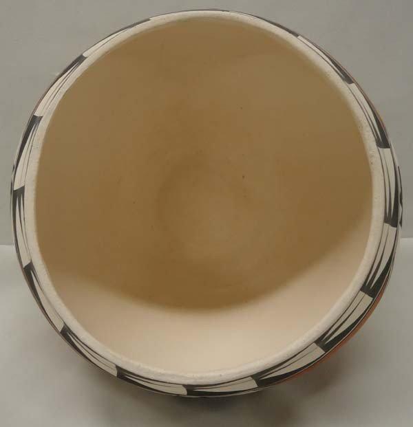 Native American Acoma Pottery By Brenda Charlie - 4