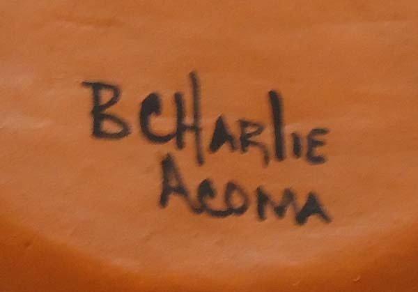 Native American Acoma Pottery By Brenda Charlie - 6