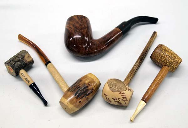Collector Smoking Pipes, some Commemorative