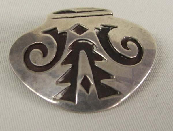 Native American Navajo Silver Pin/Pendant