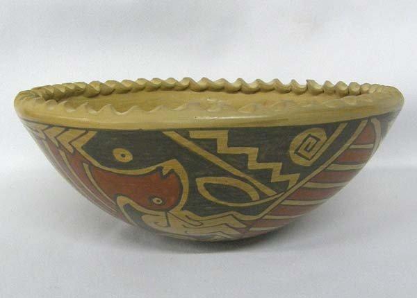 Mata Ortiz Polychrome Bowl by Daniel Gonzalez