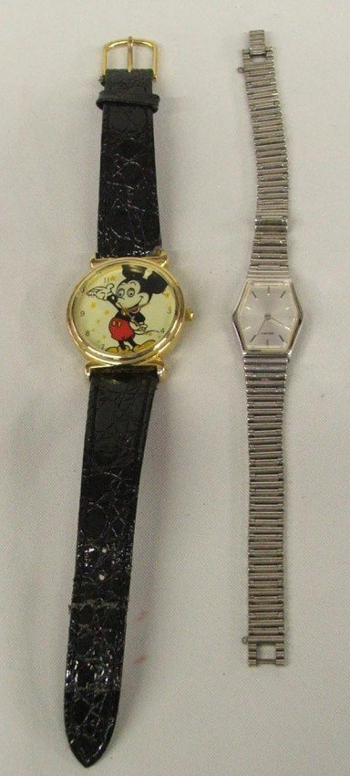 Seiko Ladies Watch & Mickey Mouse Watch