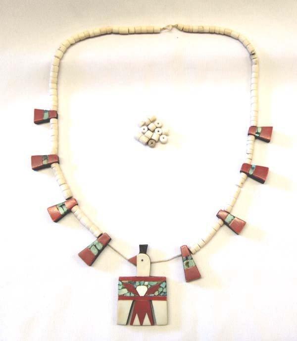 Native American Santo Domingo Necklace