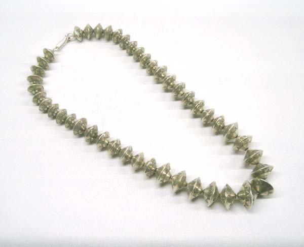 Native American Navajo Silver Necklace