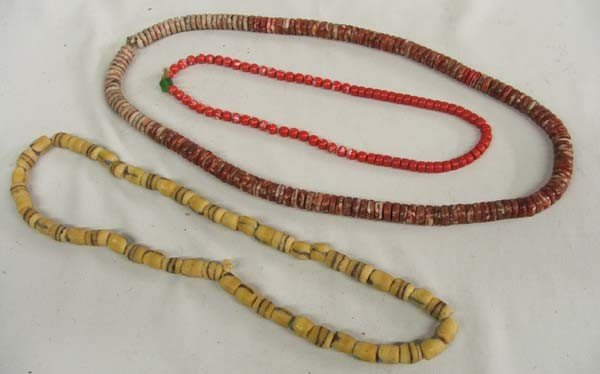 3 Strands 19th Century Trade Beads