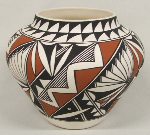 Native American Acoma Pottery by F. Yawea
