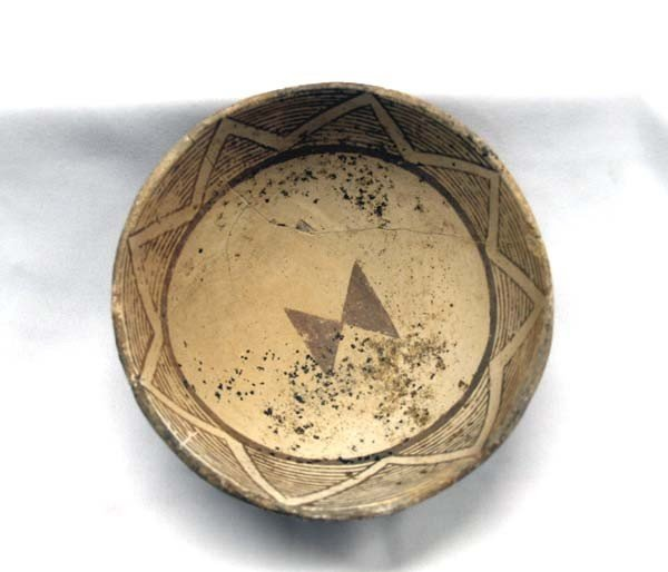 Prehistoric Mimbres Bird/Butterfly Bowl