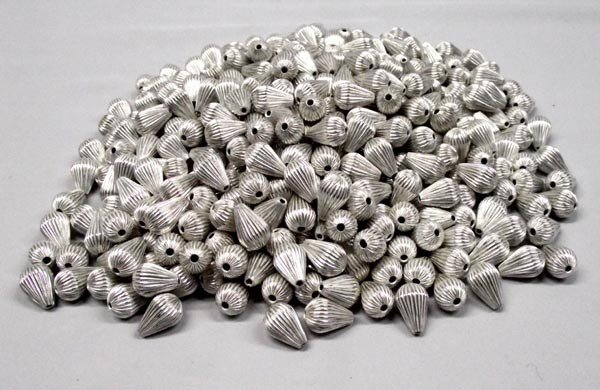 Wholesale Lot Southwestern Silver Colored Metal Beads