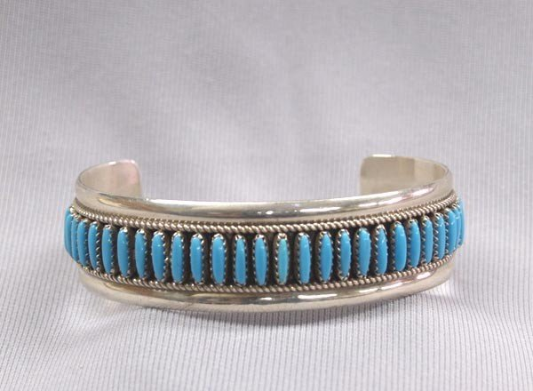 Native American Zuni Petit Point Bracelet