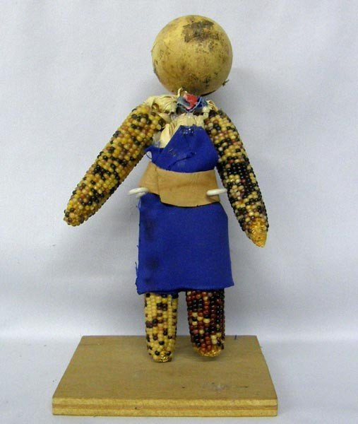 Native American Indian Corn Doll