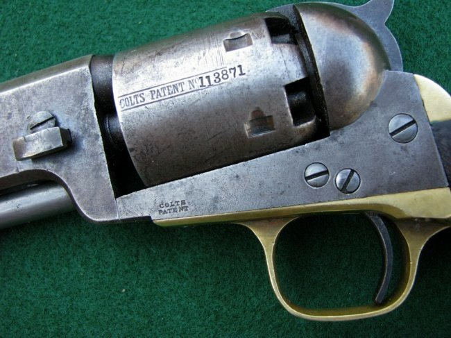 1851 Colt Model Civil War Navy Revolver - 2
