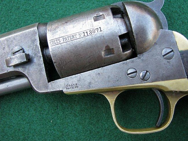1851 Colt Model Civil War Navy Revolver - 3