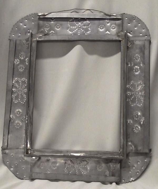 2 Mexican Tin Frames - 2