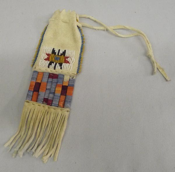 Native American Sioux Drawstring Pouch
