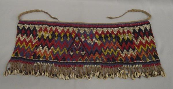 African Fully Beaded Skirt
