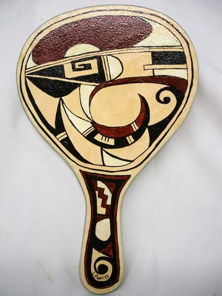 Native American Hopi Hand Mirror by Bowers