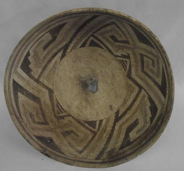 Prehistoric Mimbres Classic Geometric Bowl