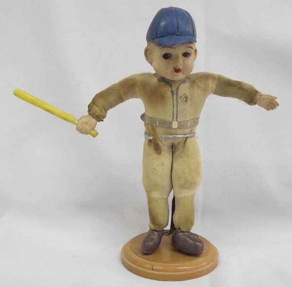 Vintage Celluloid Baseball Player Doll