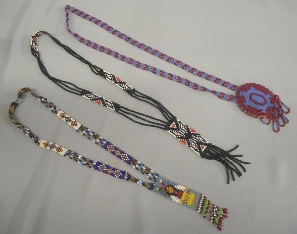 Apache Beaded Necklaces