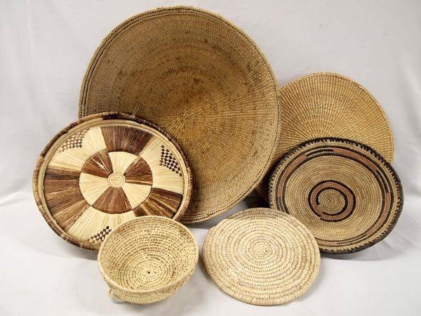 Tribal Woven Baskets