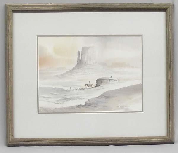 Original Watercolor by Paul Kuo