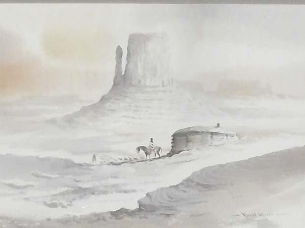 Original Watercolor by Paul Kuo - 2