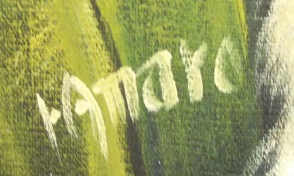 Original Painting By Amaro - 2