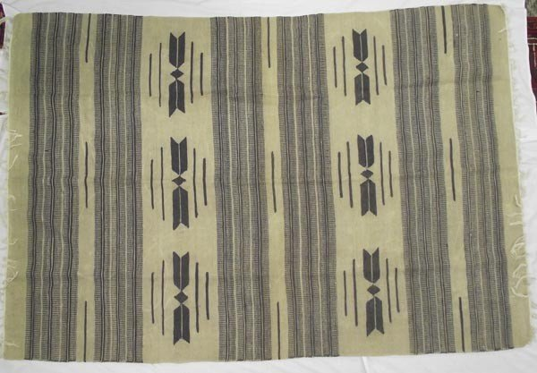 Large Fringed Mexican Textile