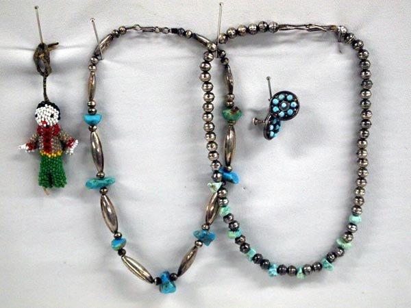 Vintage Navajo Necklaces & Earrings Plus