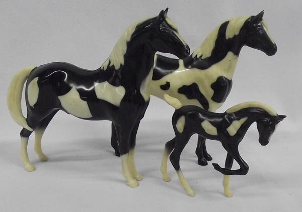 Vintage Collection Paint Pony Family