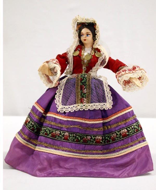 Vintage European Doll