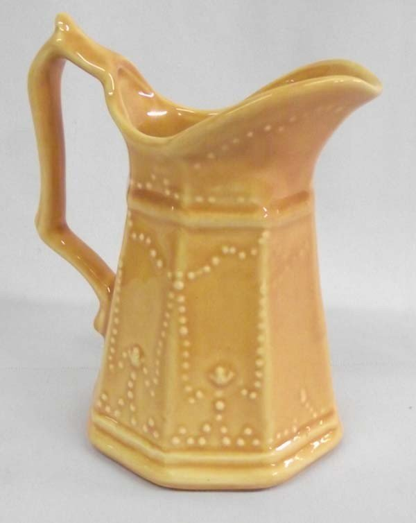 """Small """"Camark Pottery"""" Syrup Pitcher"""