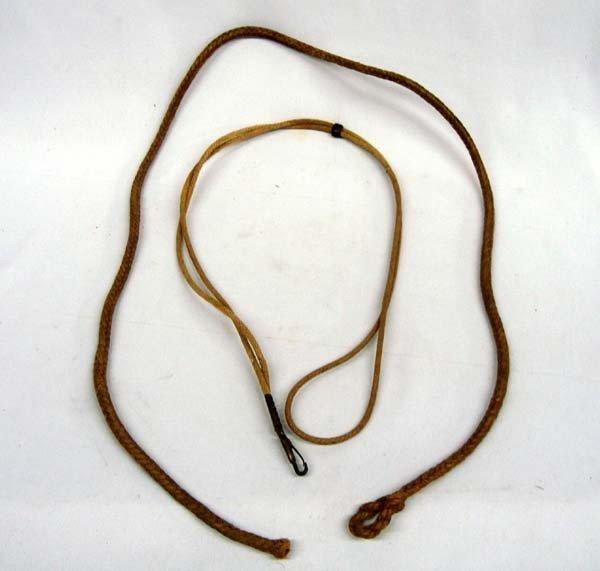 Vintage Cowboy Piggin String & Braided Lanyard