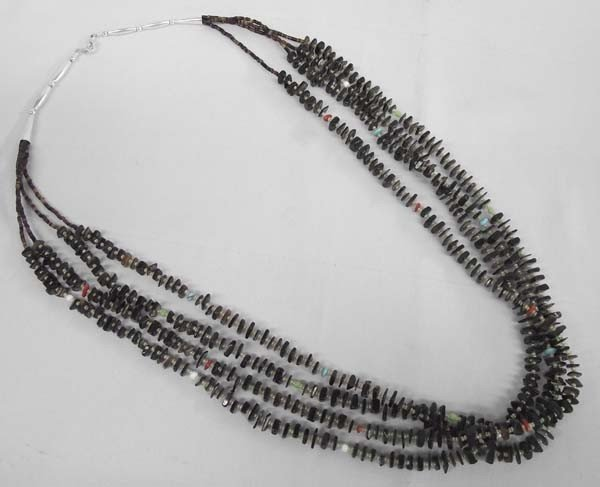 Navajo Pin Shell Necklace
