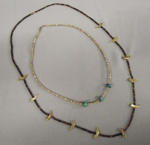 Pr Navajo Heishi Necklaces