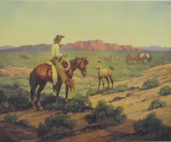 Till Goodan Framed Cowboy Print - 2