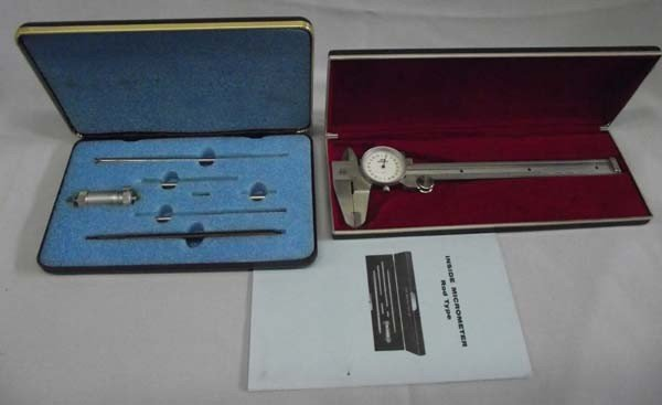 Pair Central Tool Co. Micrometer & Dial Caliper