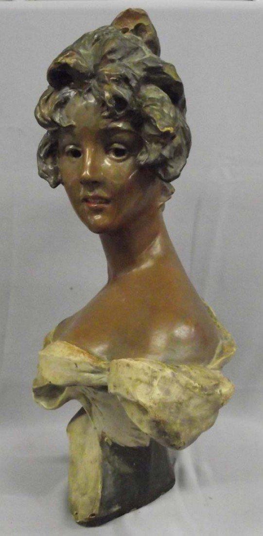 Victorian Plaster Cast Bust