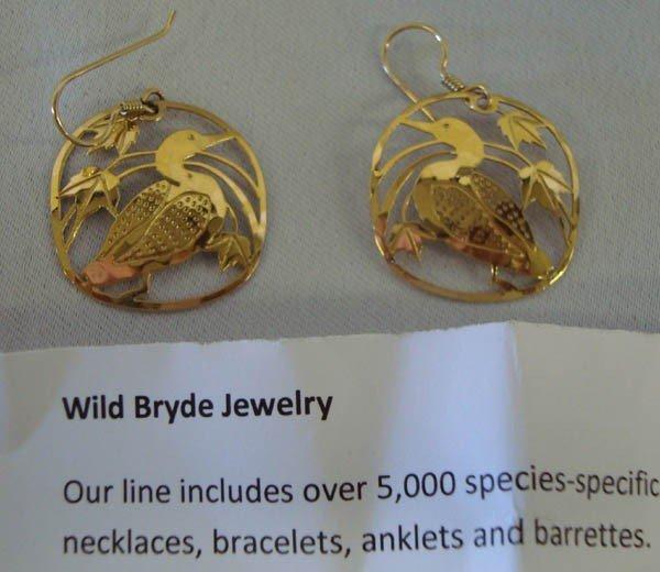 Wild Bryde Loon Earrings made in USA - 2