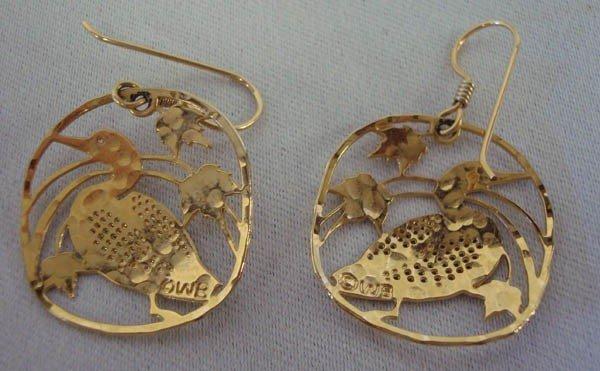 Wild Bryde Loon Earrings made in USA - 3