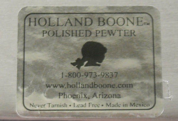 Polished Pewter Tray - Holland Boone - 2