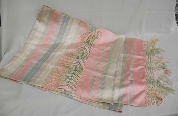 Victorian Silk Faille Shawl