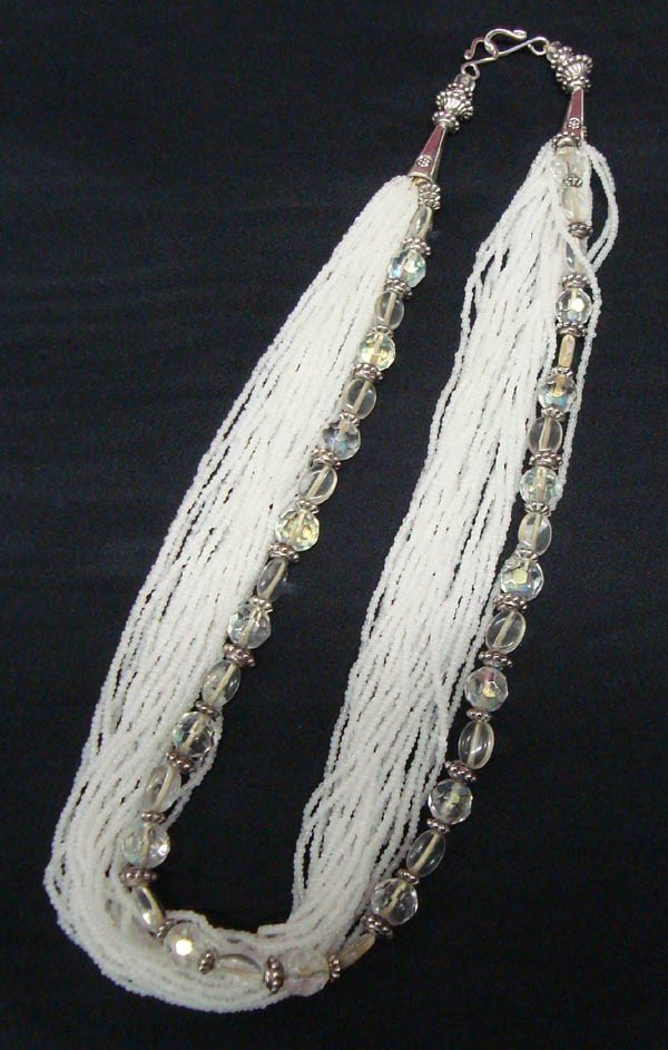 Seed Bead Necklace By Kills Thunder