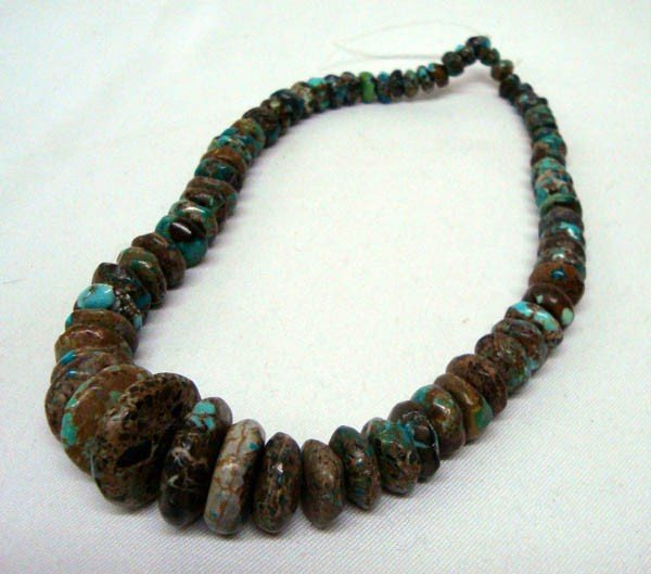 Strand Graduated Turquoise Stones for Jewelry