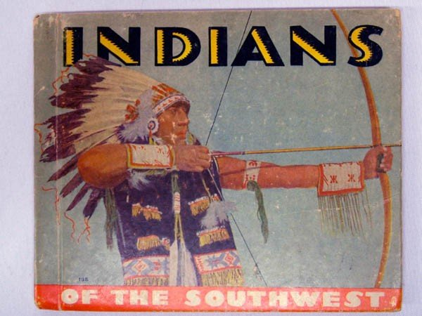 1936 Book ''Indians of the Southwest'' by Kellogg