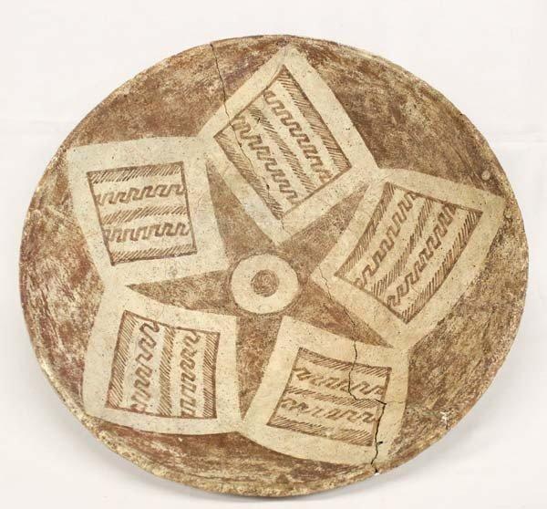 Rare Prehistoric Hohokam Star Plate