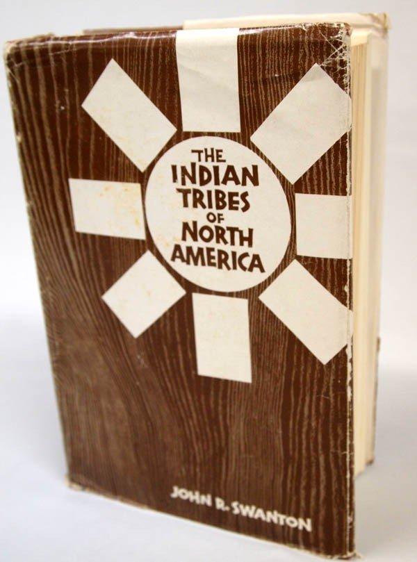 1968 Edition of 1952 Book ''Indian Tribes of N.A.''