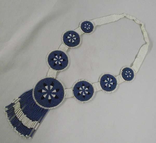 Chiricahua Apache Beaded Necklace